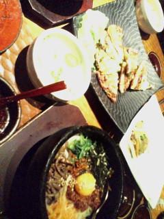 韓国料理のつづき1