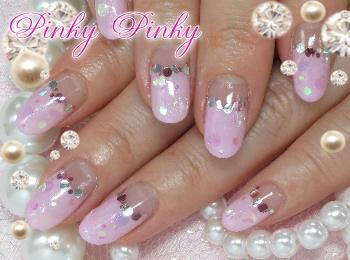 桜色ネイル1