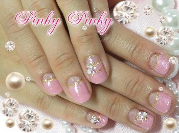 春ピンクネイルちゃん1