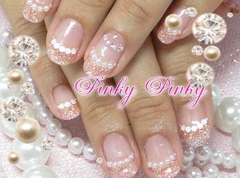 ピンクできらきら1